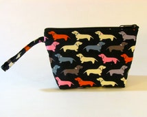 Wiener Dogs Make Up Bag - Accessory - Cosmetic Bag