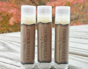 French Vanilla Mango Butter & Beeswax Lip Balm -- 0.15 oz Tube