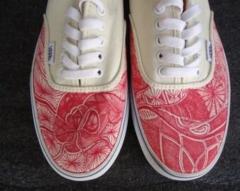 Heart VICIT // Vans Shoes