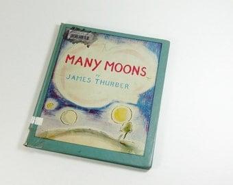 James Thurber - Many Moons 1943 Caldecott Medal Children's Book