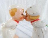 Vintage Kissing Dutch Salt and Pepper Shakers