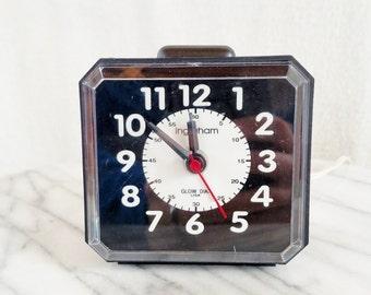 Vintage Ingraham Light Up Electric Alarm Clock