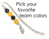 Football Bookmark, Gift For Football Fans, Book Lovers Gifts