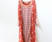 Gorgeous Vintage Indian Sari Dress
