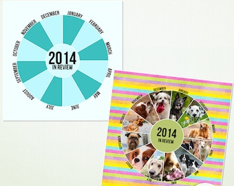 Photoshop - Elements Template - Year In Review - Personal Commercial - G9006