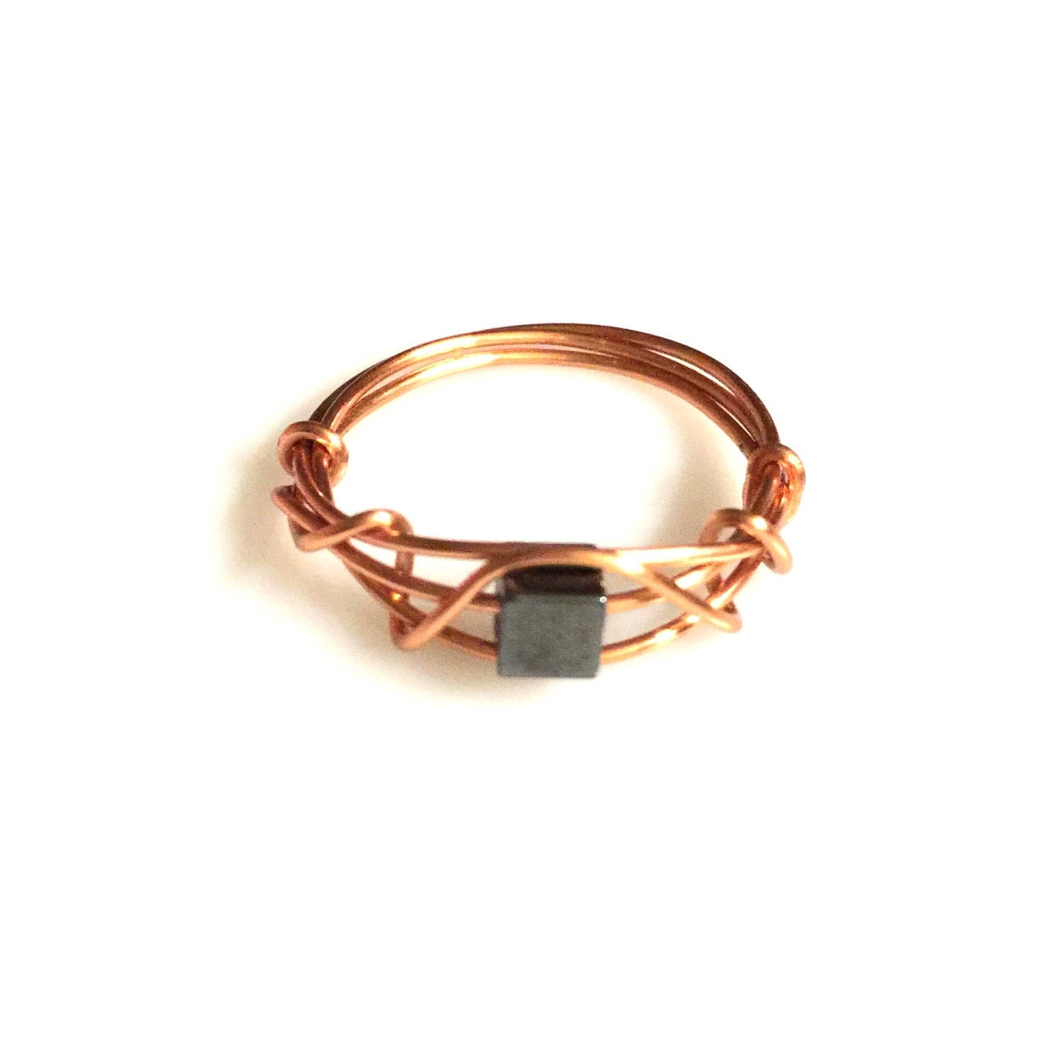 wire wrapped jewelry handmade wire wrapped ring by aoajewelry