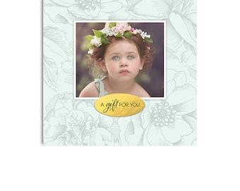Photography Studio Gift Certificate Photoshop Template  - 1194