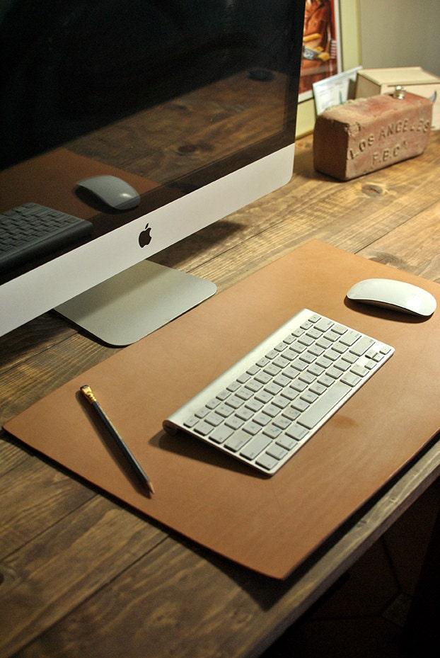 leather desk mat