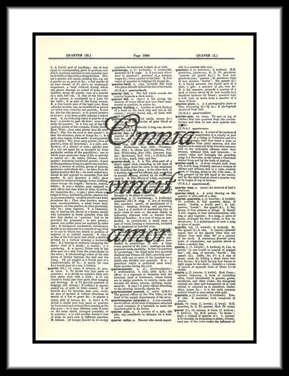 dictionary amor vincit omnia