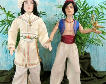 ALLADIN  A PATTERN for  Exotic Outfits for 17 inch Male dolls Ellowyne Wilde's Rufus, Phin and all like dolls