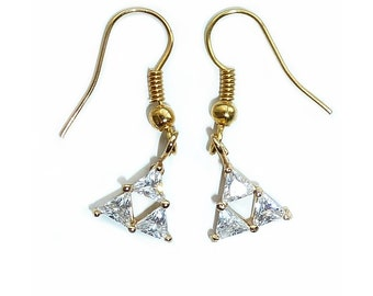 Legend of Zelda Triforce Earrings - Studs and Dangle