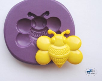 Bumble Bee Mold 2 - Silicone Molds - Insect Bug Mold - Polymer Clay Resin Fondant