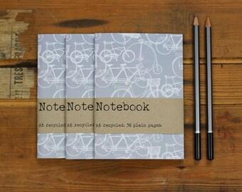 3 Notebook Set - Bicycle