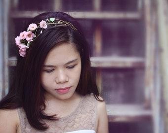sakura headband,cherry blossom headband, made by polymner clay sweet girl