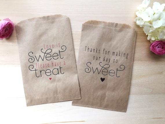 Wedding Favor Bags Candy : Wedding Favor Bag / Candy Buffet Bags / Wedding Candy Bar Bags ...