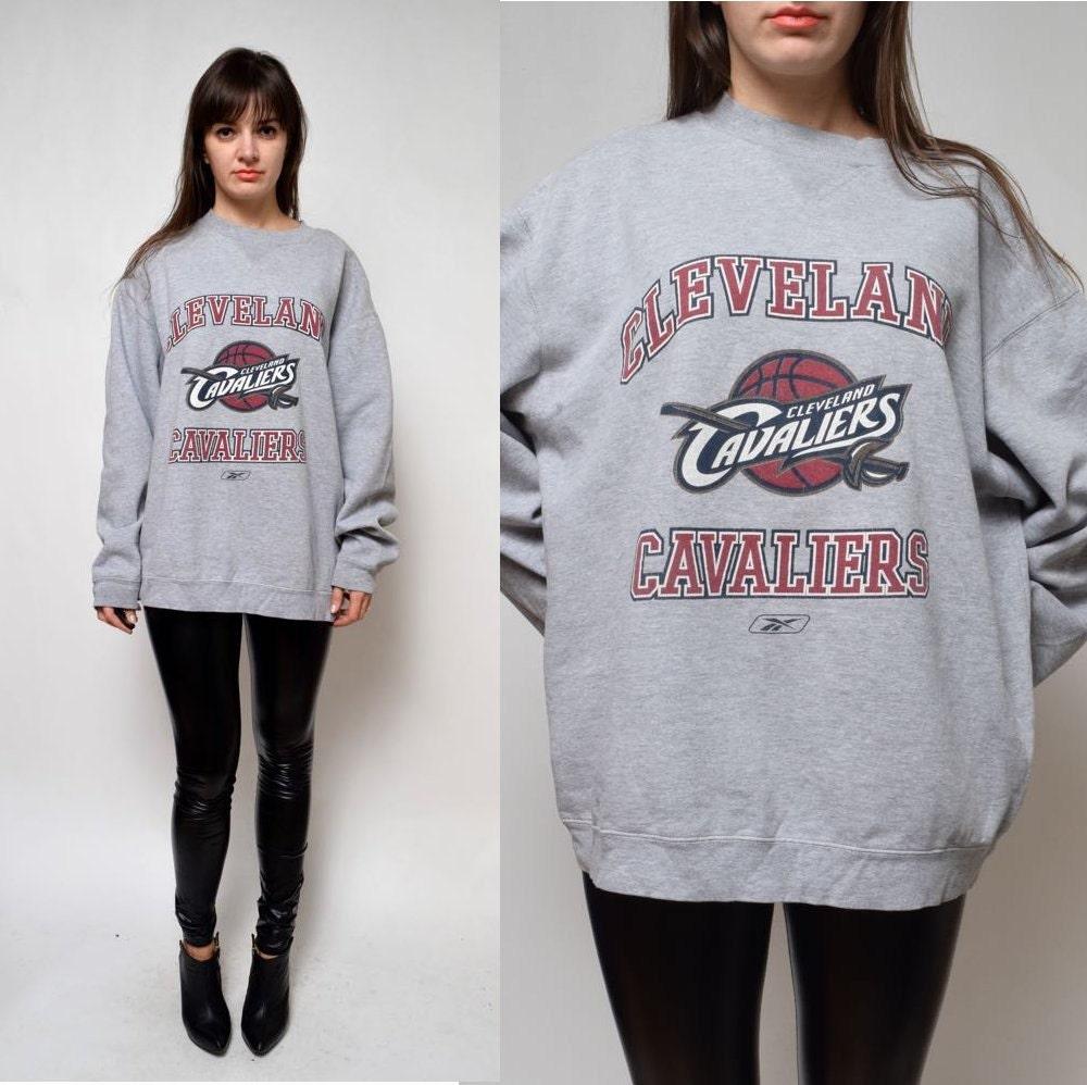 vintage reebok cleveland cavaliers sweatshirt