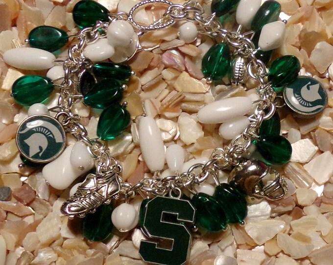 Michigan State Spartens Bracelet