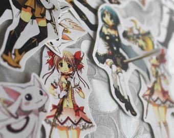 Madoka Magica stickers set