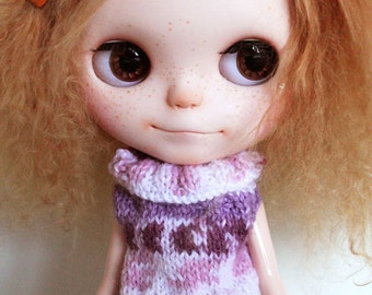Blythe -  Colored mix sleeveless Sweater