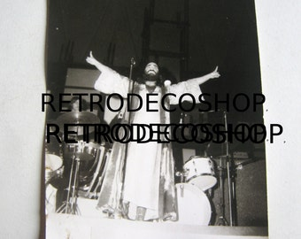 Demis Roussos original photo from 38th international exposition of Thessaloniki 1973