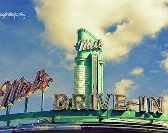 Mel's Diner Photographic Print
