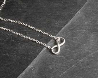 Infinity necklace-silver