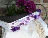 Custom Purple Altered Journal