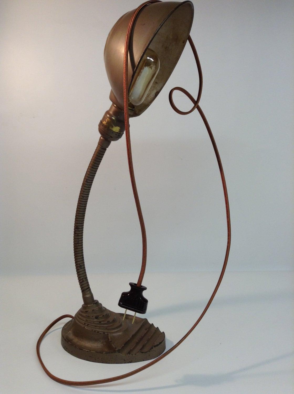 Gooseneck Lamp Eagle Lamp Vintage Industrial Lamp Antique
