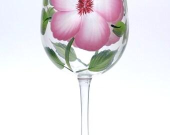 Pink & White Hibiscus
