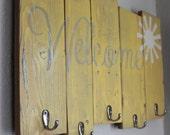 Coat Rack, wooden coat rack, rustic coat rack, entry way coat rack   on Reclaimed Barn Wood