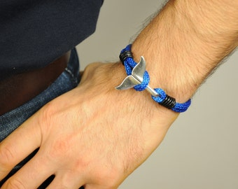 Nautical Bracelet Paracord Bracelet Men Bracelet anchor Bracelet Nautical Wristband Men Paracord