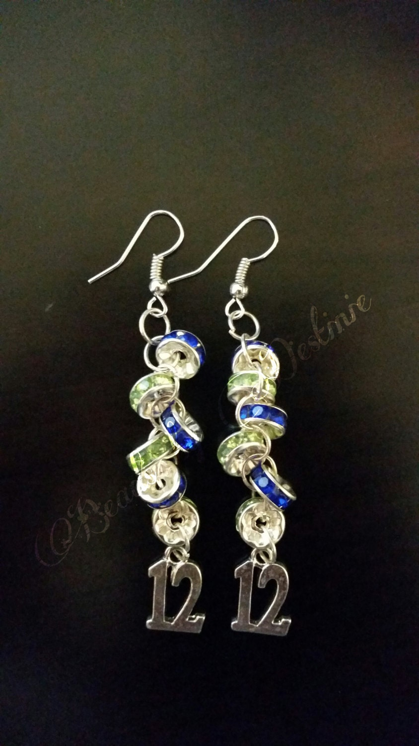 handmade jewelry seattle inspired by seattle seahawk handmade jewelry handmade 6696