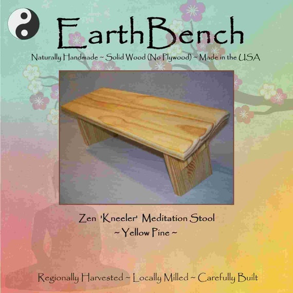 Items Similar To YELLOW PINE EarthBench 'Kneeler