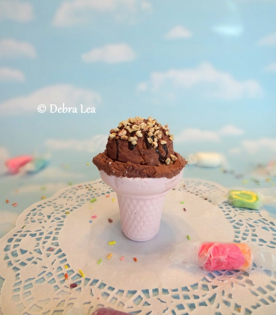 Fake Ice Cream Realistic Beautiful Gourmet Faux by ...