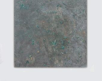 Large abstract canvas Giclee green jade taupe gray grey  painting contemporary modern wall art