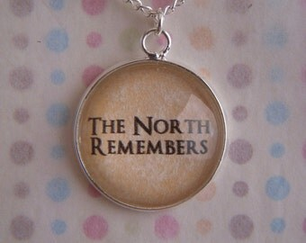 Game of Thrones The North Remembers Necklace