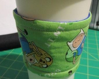Adventure Time Coffee Cozy