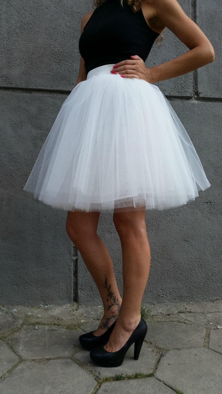tulle skirt knee length tutu skirt princess skirt