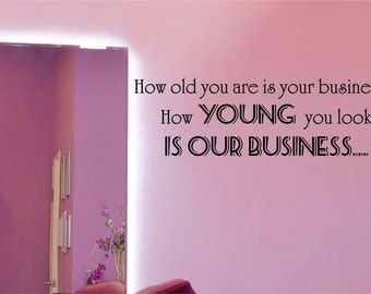 Beauty salon quote etsy uk for Salon quotes about beauty