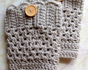 SALE Boot Cuffs - Boot Socks Womens - Crochet Boot Cuffs - Womens Boot Socks - Crochet Boot Socks - Crochet Boot Cuff - Boot Socks - Cuffs