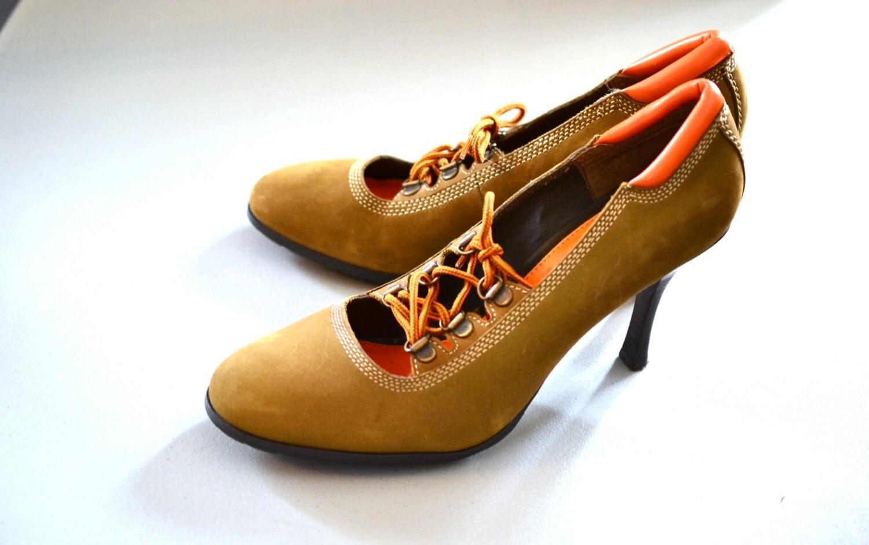 nos baker s construction boot high heels timberland heels