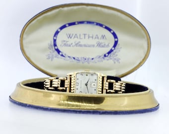 10K Gold Filled Waltham Wrist Watch