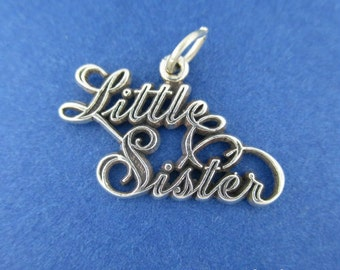 LITTLE SISTER Charm .925 Sterling Silver