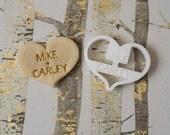 Custom Wedding Heart Cookie Cutter