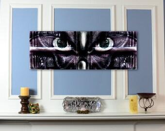 Canvas Print: Biomechanical Monster Art - Rankhor
