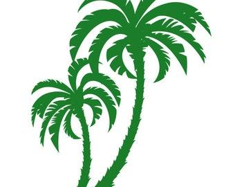 Wall decal Palm Tree