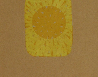 Print - Sun - numbered 5 copies