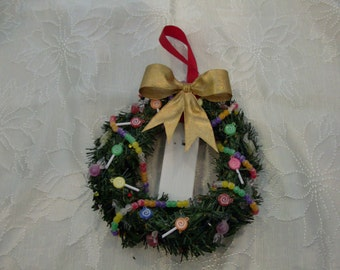 Sweets Mini Wreath with lights