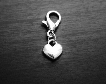 Heart Dangle Charm for Floating Lockets-GIft Ideas for Women