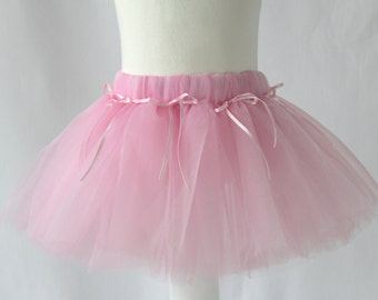 Pink Ballet Tutu, Pink Tutu, Girl's Tutu, Girl's Petticoat, Tutu Skirt for Newborn Baby, Toddler & Children